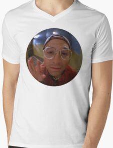 Peep Hole George Mens V-Neck T-Shirt