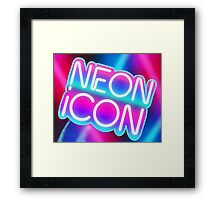 NEON ICON Framed Print