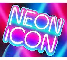 NEON ICON Photographic Print