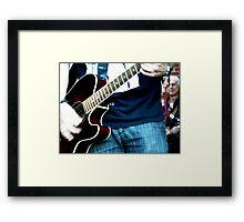 Music Eminates Framed Print