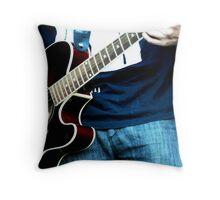 Music Eminates Throw Pillow