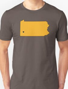 Home Sweet Pittsburgh Unisex T-Shirt