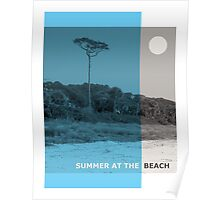 Summer At The Beach Poster