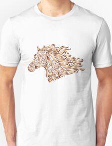 Beautiful Mustang - Bronze Unisex T-Shirt