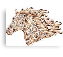 Beautiful Mustang - Bronze Canvas Print
