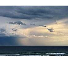 Storm over the Southern Ocean , Lakes Entrance Victoria Photographic Print