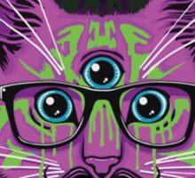 Alien Cat 2 Sticker