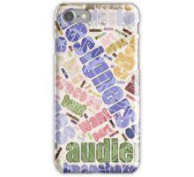 Graphic Design Word Cloud iPhone Case/Skin