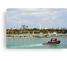 Miami Vice Canvas Print