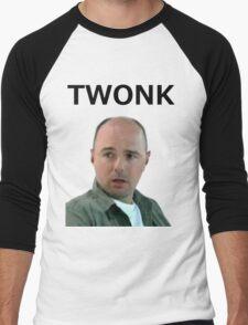 TWONK. Men's Baseball ¾ T-Shirt