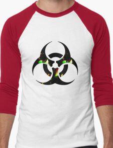 Infected Biohazard Men's Baseball ¾ T-Shirt