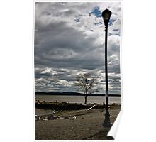 Fall on the Hudson II Poster