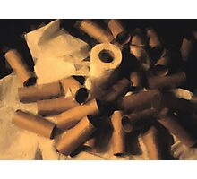 Toilet Paper Photographic Print