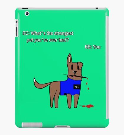 Castle dog iPad Case/Skin