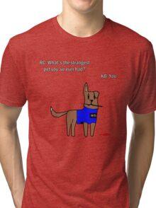 Castle dog Tri-blend T-Shirt