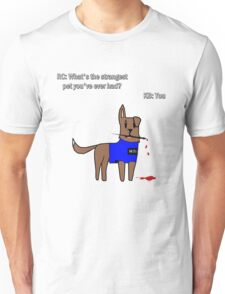Castle dog Unisex T-Shirt