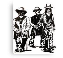 Them cowboys!  Canvas Print