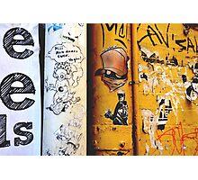 Perth urban graffiti Photographic Print
