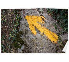 Flecha Amarilla Poster