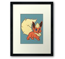 Flame Pokemon Framed Print
