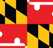 Maryland Flag 1 Sticker