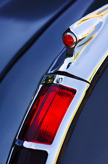 1947 Cadillac Taillight by Jill Reger