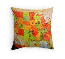A Few Vampires Did This? Throw Pillow