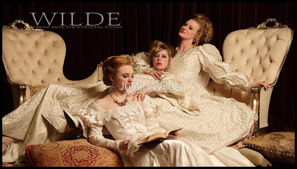 Kathryn, Alexandra and Danielle. by Julian Wilde