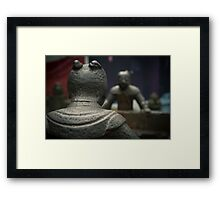 iron guard Framed Print