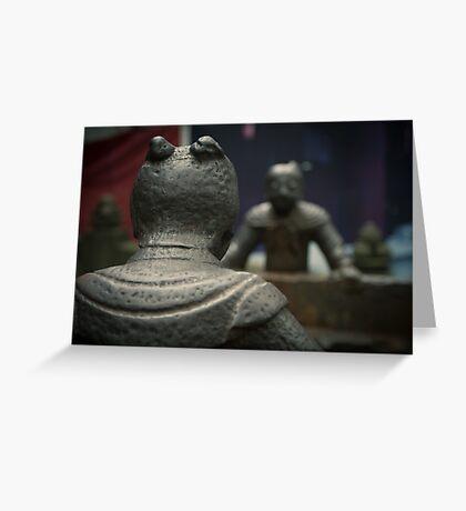 iron guard Greeting Card
