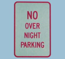 NO overnight PARKING-t by DAdeSimone