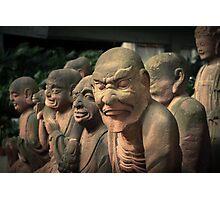 garden gnomes Photographic Print