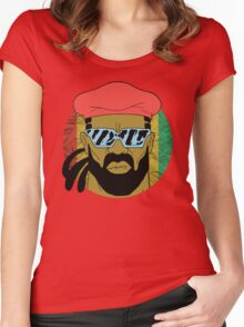 """Major Lazer"" - Circle Graphic  Women's Fitted Scoop T-Shirt"