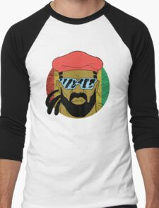 """Major Lazer"" - Circle Graphic  Men's Baseball ¾ T-Shirt"