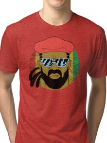"""Major Lazer"" - Circle Graphic  Tri-blend T-Shirt"
