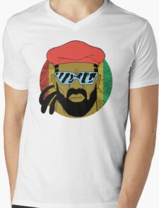 """Major Lazer"" - Circle Graphic  Mens V-Neck T-Shirt"