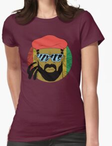 """""""Major Lazer"""" - Circle Graphic  Womens Fitted T-Shirt"""
