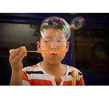 bubbles. Photographic Print
