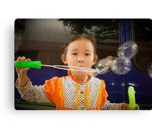 bubbles.. Canvas Print