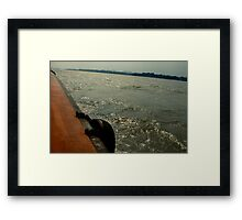 mighty yangse Framed Print