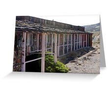 Goldfield Nevada - History from the Past Motel Greeting Card