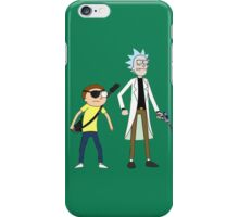 Evil Rick and Morty iPhone Case/Skin