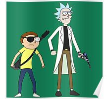 Evil Rick and Morty Poster