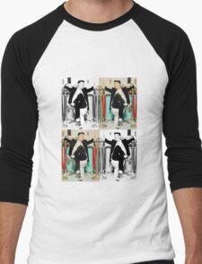 BOBBY BORN HATER Men's Baseball ¾ T-Shirt