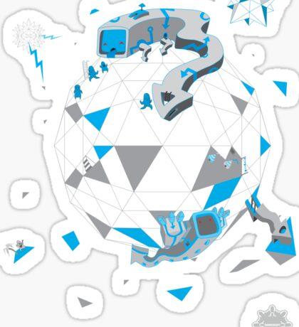 Oblique Technique V1.0 Sticker