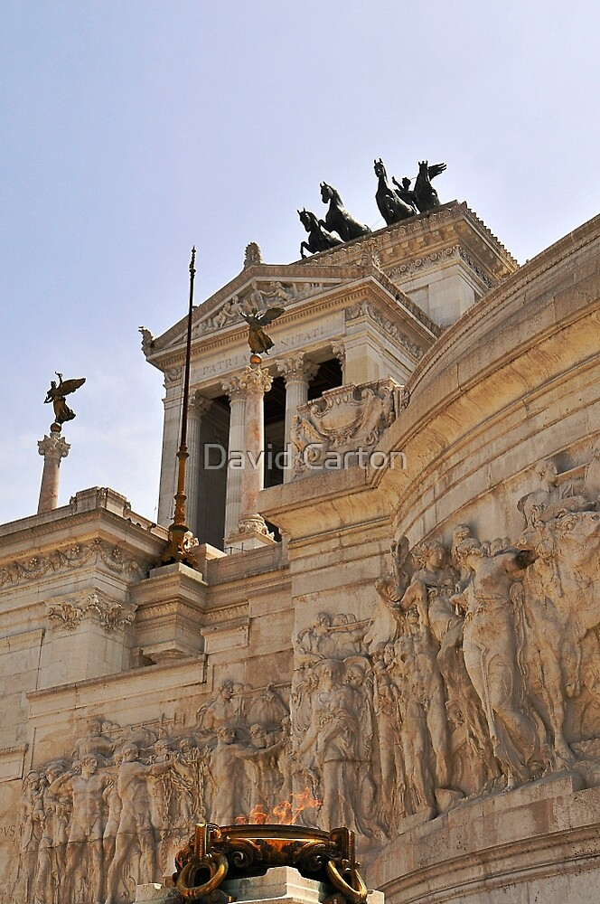 Victor Emmanuel Monument, Rome, Italy by buttonpresser