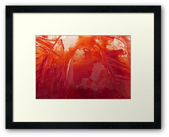 Ice on fire by © Pauline Wherrell