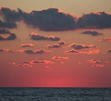 pink above the sea by Ceiara