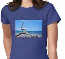 Maluaka Beach Womens Fitted T-Shirt