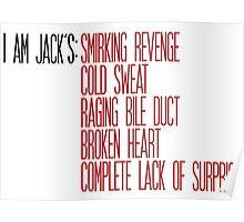 I Am Jack's Design Poster